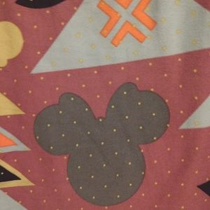 LulaRoe Disney TC leggings, mauve, dusty pink